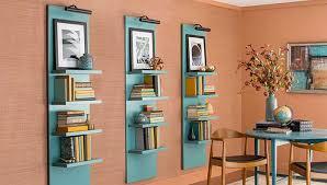 Wall Hung Lighted Display Shelves