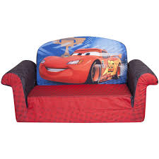 marshmallow 2 in 1 flip open sofa disney cars 2 walmart com