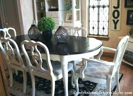 Best Paint For Dining Room Table Chalk Painted Furniture Outstanding