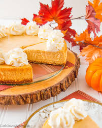 Gingersnap Pumpkin Pie Cheesecake by Pumpkin Chai Cheesecake Video Little Sweet Baker