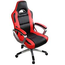 ordinateur de bureau pour gamer iwmh racing chaise de bureau gaming siège baquet sport fauteuil