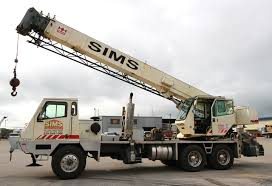 100 Truck Mounted Crane Smaller Sims