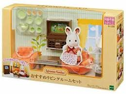 japan import 516 sylvanian families living tv toys
