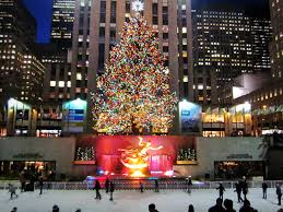 Rockefeller Plaza Christmas Tree Location by Street Scene Christmas In Nyc Urban Explorer