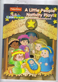 Fisher Price A Little People Christmas Giant Coloring And Activity Book By Modern Publishing 495