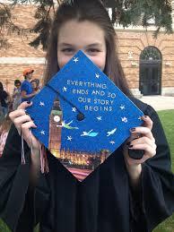 Graduation Decorations 2015 Diy by Peter Pan Graduation Cap Grad Pinterest Peter Pans Cap And