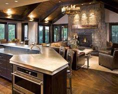 Someday My Kitchen Will Look Like This Open Concept House PlansOpen