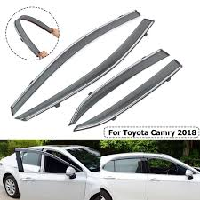 Car Window Visor Sun Visor Rain Guards Wind Deflectors Cover Trim ... How To Install Rain Guards Inchannel And Stickon Weathertech Side Window Deflectors In Stock Avs Color Match Low Profile Oem Style Visors Cc Car Worx Visor For 20151617 Toyota Camry Wv Amazoncom Black Horse 140660 Smoke Guard 4 Pack Automotive Lund Intertional Products Ventvisors And 2014 Jeep Patriot Cars Sun Wind Deflector For Subaru Outback Tapeon Outsidemount Shades Front Door Best Of Where To Find Vent 2015 2016 2017 Set Of 4pcs 1418 Silverado Sierra Crew Cab Shade