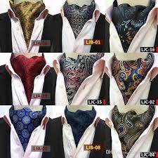 58 Styles Fashion Scarves Luxury Men Wedding Formal Cravat British Style Gentleman Silk Neck Tie Man Suit Business Necktie