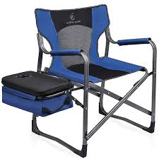ALPHA CAMP Wholesale Folding Directors Cooler Chair With Mesh Back