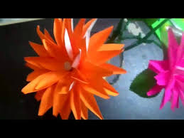 How To Make Beautiful Paper Flowers Colour Crafts Flowersdog Crofts