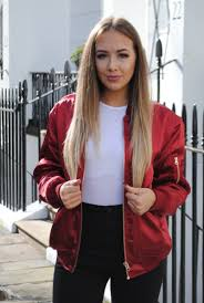 oversized bombers and heels lucy lu rose