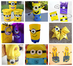 25 Minion Crafts And Recipes For Kids I Heart Arts N Photo Details