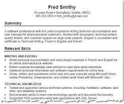 Key Skills Resume Examples Of Resumes