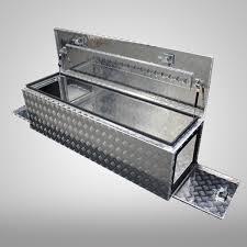 3 Door Aluminium Camper 1500x500x500mm Tool Box Toolbox Draw Bar Caravan