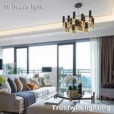 delightfull ike rohr led kronleuchter le licht metall schlauch moderne schwarz gold rohr hängen licht le led für wohnzimmer esszimmer zimmer
