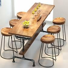 The Village Of Retro FurnitureVintage Metal Bar Table