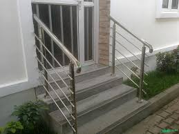 Stainless Steel Handrail | Building Materials | Mobofree.com Stainless Steel Handrail See Tips And 60 Models With Photos Glass Railing Fabricators In Shimla Manali Interior Railings Gallery Compass Iron Works The Sleek Design Of Stainless Cable Rail Systems Pair Well Modern Steel Stair Railing Installing Elements The Handrails Price Naindien Handrails Unique Designs Staircase Handrail Work Kochi Kerala Ernakulam Thrissur Systems Square Middle Post W