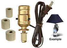 Lamp Wiring Kit For Table Lamp by Bottle Lamp Kit Ebay