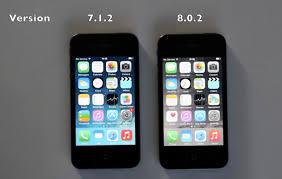 iPhone 4S iOS 7 vs iOS 8 Video
