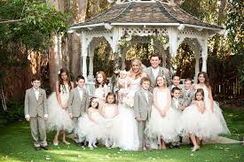 Look At All Of Those Ring Bearers And Flower Girls Perfect 20130601 Wedparty