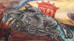 David Alfaro Siqueiros Famous Murals by Mural Of Orozco By David Alfaro Siqueiros 1896 1974 Mexico