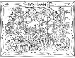 Coloring PagesColoring Pages Garden Flower In Page