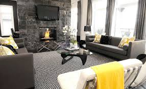 Modern Curtains For Living Room Pictures by Gray And Yellow Living Rooms Photos Ideas And Inspirations