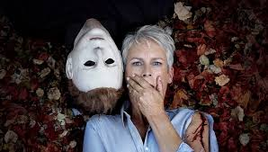 Halloween H20 Mask Amazon by Syfy Wire Jamie Lee Curtis Michael Myers Halloween Pic