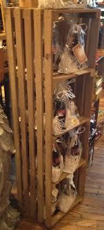 Rustic Wood Crate Shelf Display Idea JBrothersandCompany