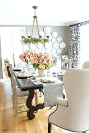 Pink Dining Room Home Tour Decorated With Poinsettias And Gold Silver Ornaments Chairs Australia