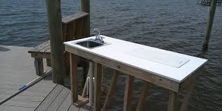 Fish Cleaning Station With Sink by Gallery Docks Of The Bay