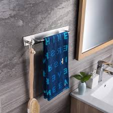 zunto handtuchhalter ohne bohren handtuchstange bad