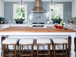 Joanna Gaines Decor Advice Blue And White Kitchen