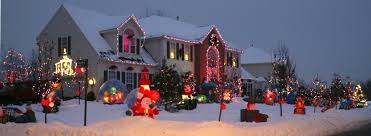 Christmas Tree Shop Syracuse Ny by 60 Inflatables Outside 13 Christmas Trees Inside The Degroots Of