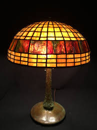 Tiffany Style Lamp Shades by Contemporary Stained Glass Lamp Tiffany Style Geometric