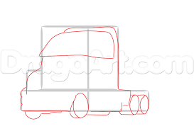Step 2. How To Draw A Mack Truck Step 11 How To Draw A Truck Tattoo A Pickup By Trucks Rhdragoartcom Drawing Easy Cartoon At Getdrawingscom Free For Personal Use For Kids Really Tutorial In 2018 Police Monster Coloring Pages With Sport Draw Truck Youtube Speed Drawing Of Trucks Fire And Clip Art On Clipart 1 Man
