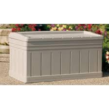 Suncast Db12000 Deck Box 127 Gallon by Deck Boxes Radnor Decoration