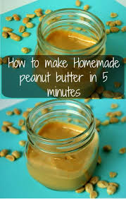How To Make Homemade Peanut Butter This Is Quick And Easy Made In Five