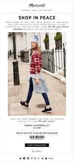 Madewell VIP Shopping Email. Subject Line: Early Access Just For You ... Black Friday Cyber Monday Sales Coupon Codes Ashley Brooke 2018 The Best Deals Still Left At Amazon Target Madewell Jean Discount Tips And Tricks Rack Sidekick Black Friday Haul Week Sale Minimal Style Lbook Mademoiselle Where To Recycle Your Old Clothes Tunes And Tunics Staples Coupon 10 Off In Store Only Reg Price Purchase Exp 82419 3rd Edition Of The Tradein Your Bpack Get 25 A Brand 2017 All From All Top Sales Stores Actually Worth Shopping Cotton Tops Find Great Womens Clothing Deals Shopping Online In Store Coupons Promotions Specials For August