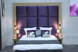 chambre avec tete de lit chambre capitonnée