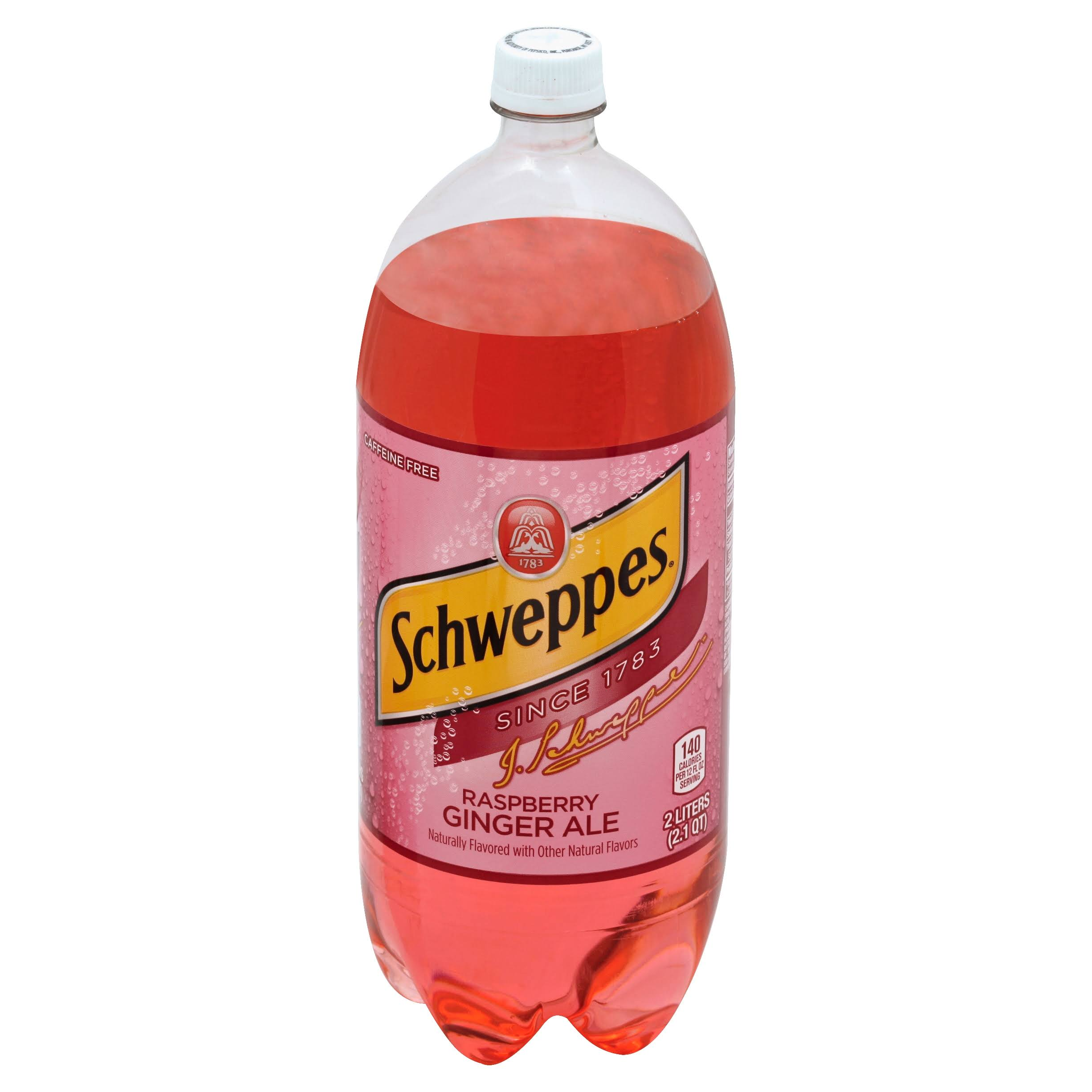 Schweppes Raspberry Ginger Ale - 2l