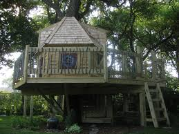 Cream Wooden Tree House With Fences Around Also Ladder - Atlanta ... This Is A Tree House Base That Doesnt Yet Have Supports Built In Tree House Plans For Kids Lovely Backyard Design Awesome 3d Model Cool Treehouse Designs We Wish Had In Our Photos Best 25 Simple Ideas On Pinterest Diy Build Beautiful Playhouse Hgtv Garden With Backyards Terrific Small Townhouse Ideas Treehouse Labels Projects Decor Home What You Make It 10 Diy Outdoor Playsets Tag Tibby Articles