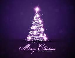 Purple Xmas Tree Baby Nursery Engaging Lights Small Version Dark Christmas Skirt