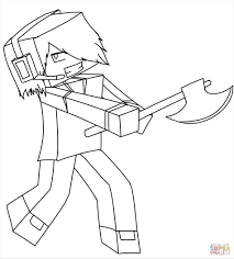 Diamond Sword And Armor Coloring Pages Ender Minecraft