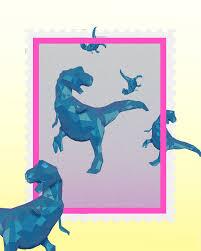Animated GIF Animation Artists On Tumblr 3d Net Art Dinosaur Pink