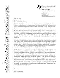 School Recommendation Letter Graduate Template Law From Employer B