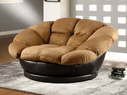 oversized swivel chair this from plusha snuggle swivel