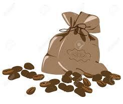 Coffee Plant Clipart Bean Bag 4