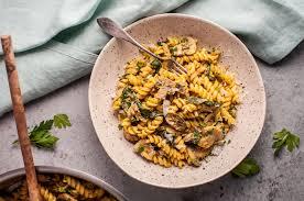 Pumpkin Gnocchi Recipe Uk by Pumpkin Mushroom And Spinach Pasta U2022 Salt U0026 Lavender